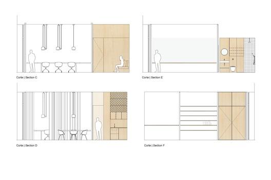 Sections C, D, E, F