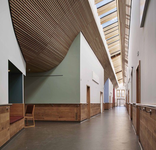St. Michael's Hospice, Hereford / Architype. Image © Dennis Gilbert