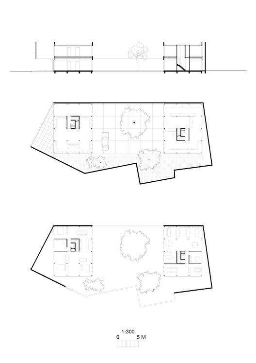 Plans + Section