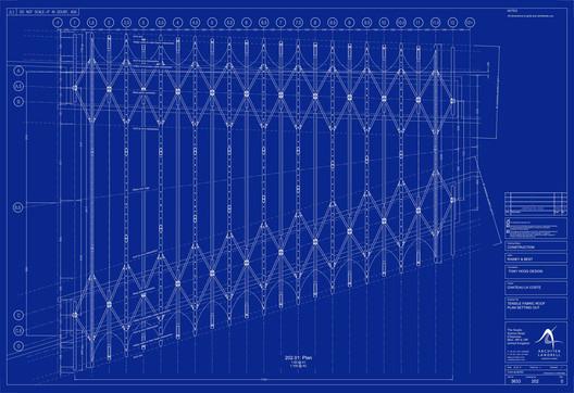 Tensile Fabric Roof Plan