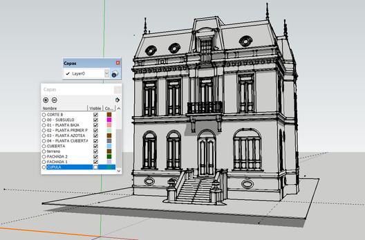 3D Model: Fabian Dejtiar via SketchUp.