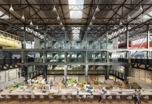 © 3d studio Prins & Civic architects