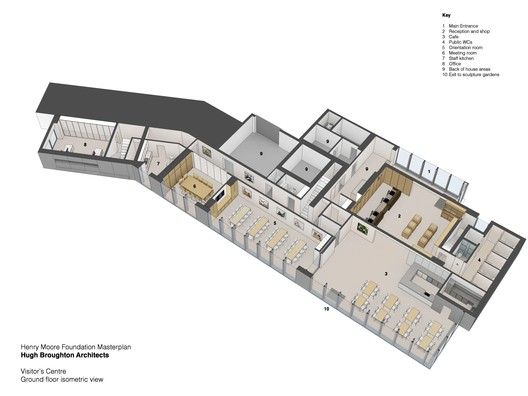 Isometric Ground Floor