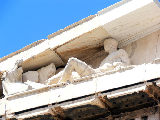 Eastern pediment. Image © Wikipedia User: Fingalo. Licensed Under CC BY-SA 2.0 Germany