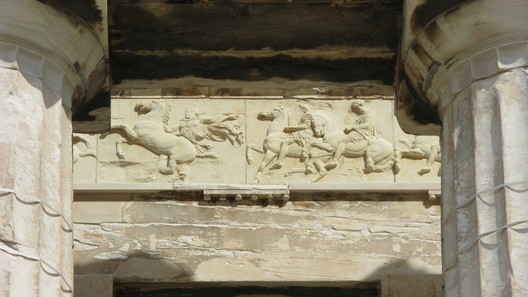Ionic Frieze. Image © Wikipedia User: Marcus Cyron. Licensed Under CC BY-SA 2.0