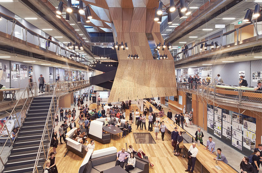 Melbourne School of Design, University of Melbourne, Melbourne, Australia / John Wardle Architects and NADAAA. Image © Peter Bennetts