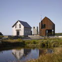 """The Village Architect"", Shobac Campus, Upper Kingsburg, Nova Scotia, Canada / MacKay-Lyons Sweetapple Architects. Image © James Brittain"