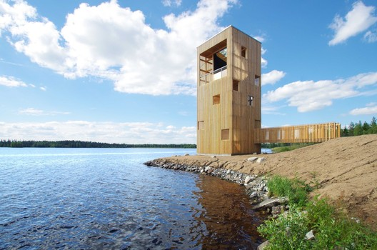 Periscope Tower / OOPEAA. Image © Anssi Lassila