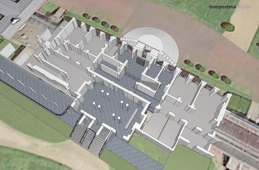 Palace Renovation. Image © TomPostma Design