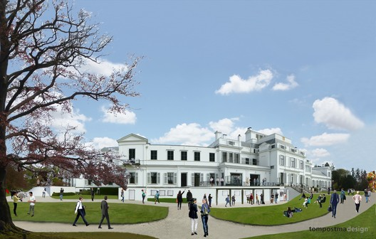 Palace Renovation. Image © TomPostma Design
