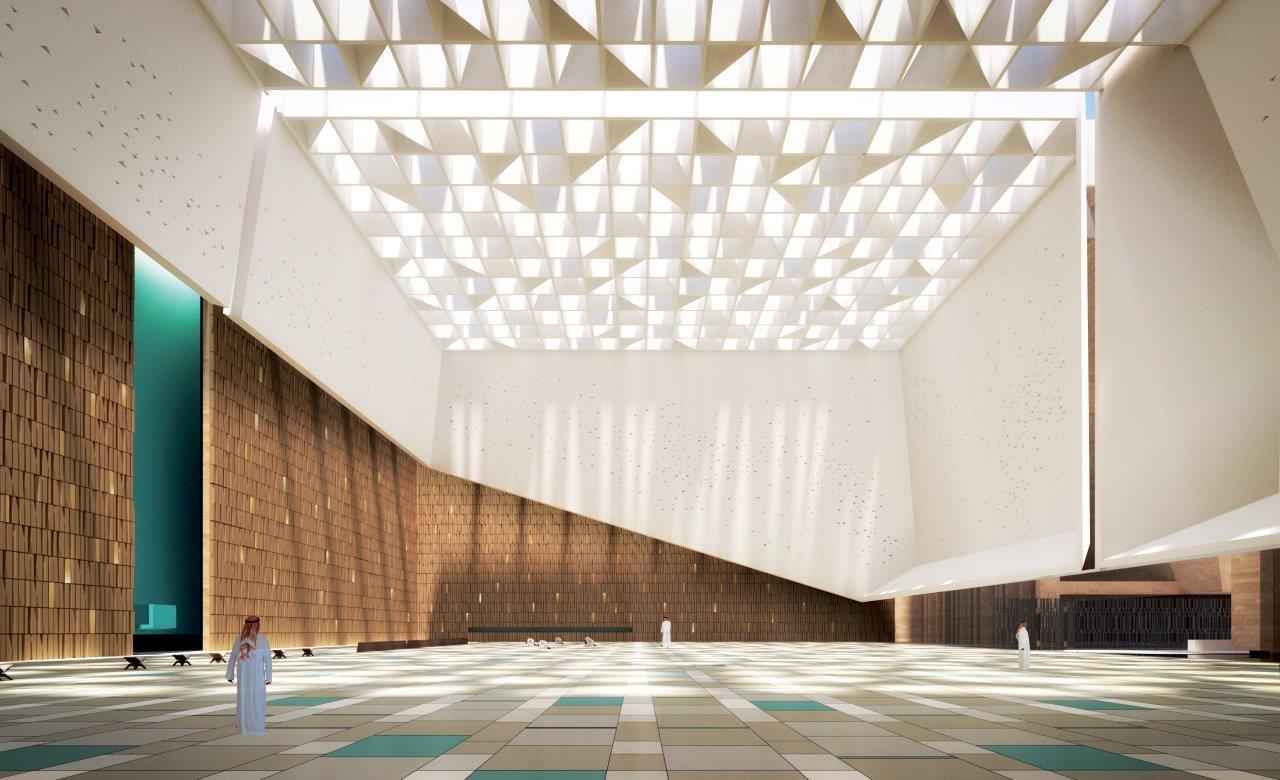 Schiattarella Associatis Mosque In Saudi Arabia Creates An Illuminated Local Landmark ArchDaily