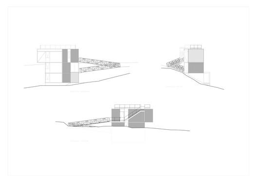 C_AMARILLA_elevaciones Yellow House / Aguilo & Pedraza Arquitectos Architecture