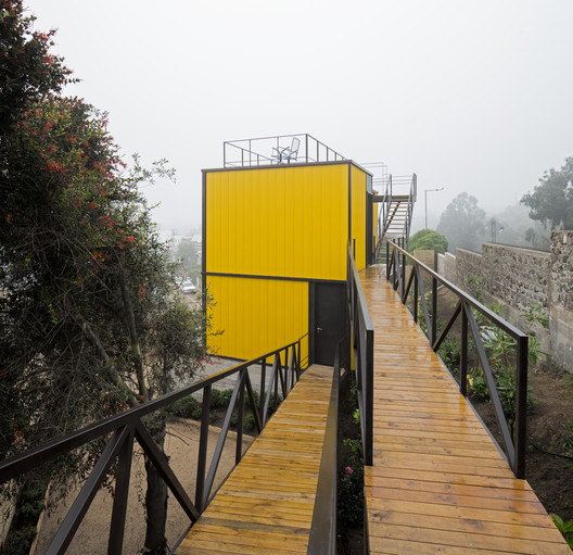 CA_AMAR_A_P_02 Yellow House / Aguilo & Pedraza Arquitectos Architecture