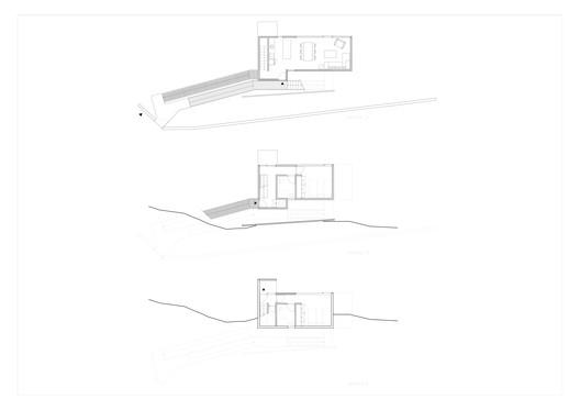 C_AMARILLA_plantas_1_2_3 Yellow House / Aguilo & Pedraza Arquitectos Architecture