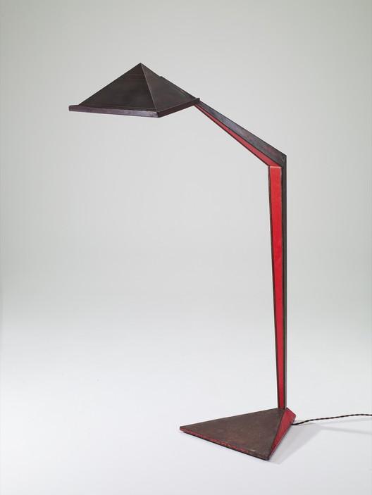 Floor Lamp by John Lautner 1939 at Galerie Eric Philippe. Image Courtesy of Galerie Eric Philippe