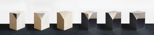 Boxes by Trix + Robert Haussmann 2016 at Maniera Gallery. Image Courtesy of Maniera Gallery