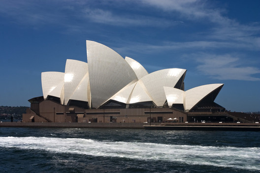 The structures of the Sydney Opera House's iconic shells were only resolved through a long and close collaboration between the building's architect Jørn Utzon and its engineer Ove Arup. Image © <a href='https://www.flickr.com/photos/jimmyharris/114537716/'>Flickr user jimmyharris</a> licensed under <a href='https://creativecommons.org/licenses/by/2.0/'>CC BY 2.0</a>
