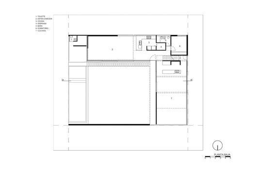 Lower floor plan / DL
