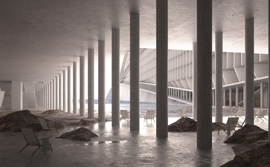 Dead Sea development. Image © Akarachai Padlom, Eleftherios Sergios, Nasser Alamadi