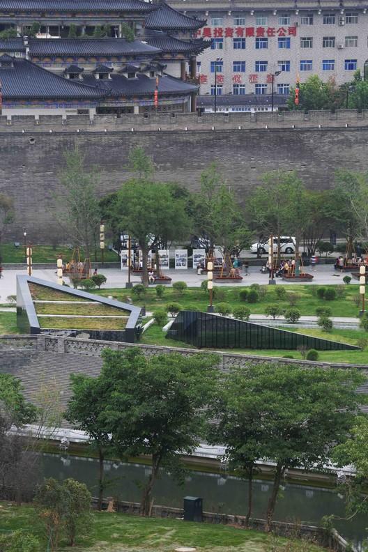 huan cheng park. Image © Chen Su