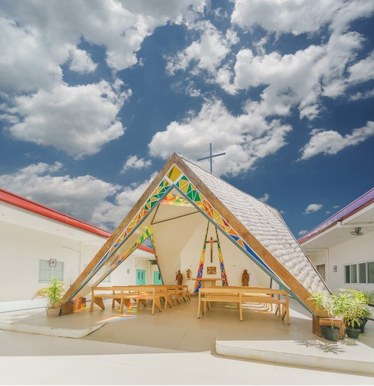 Religion: WTA Architecture and Design Studio / The Chapel of St. Benedict and St. Scholastica. Image Courtesy of WAF