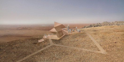 Experimental: 3deluxe Transdisciplinary Design / Sharjah Observatory, Mleiha National Park. Image Courtesy of WAF