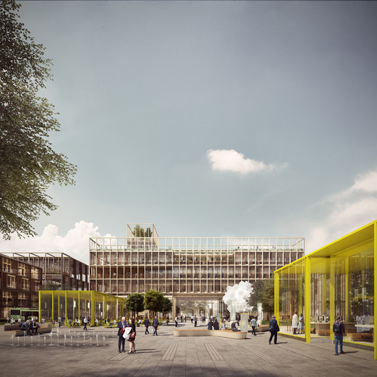 Health: Haptic Architects & Nordic - Office of Architecture / London Cancer Hub. Image Courtesy of WAF