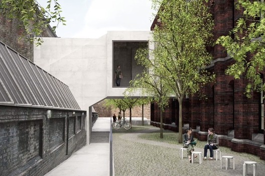 © David Chipperfield Architects. Courtesy of Royal Academy of Arts