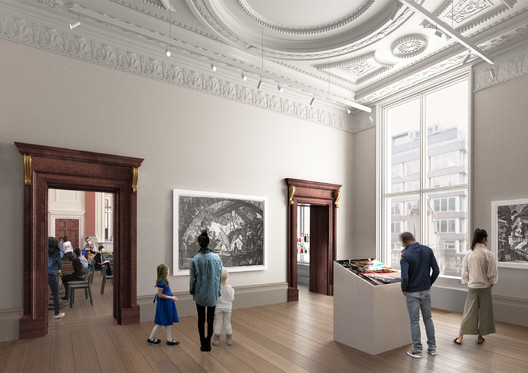 Architecture Studio in 2018. Image © David Chipperfield Architects. Courtesy of Royal Academy of Arts