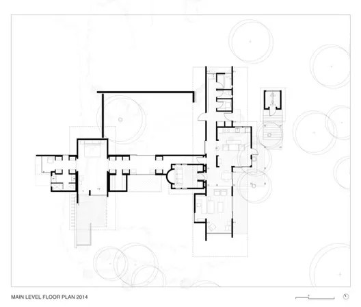 Main Level Floor Plan 2014