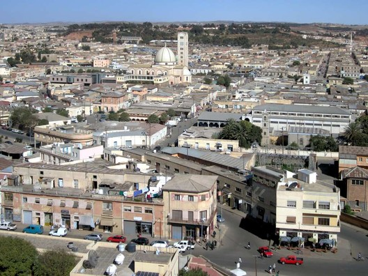 Asmara. Image© <a href='https://commons.wikimedia.org/wiki/File:Asmara_(8351468351).jpg'>Wikimedia user David Stanley</a> licensed under <a href='https://creativecommons.org/licenses/by/2.0/deed.en'>CC BY 2.0</a>