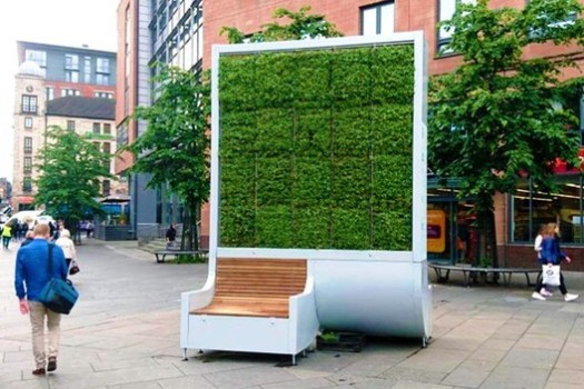 CityTree. Image © Green City Solutions