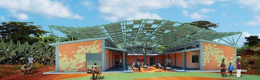 Ambulatory Surgical Facility; Kyabirwa, Uganda / Kliment Halsband Architects. Image © Kliment Halsband Architects