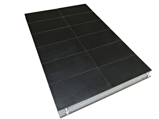 Thermoslate® Technical Solar Floor. Image Courtesy of Cupa Pizarras