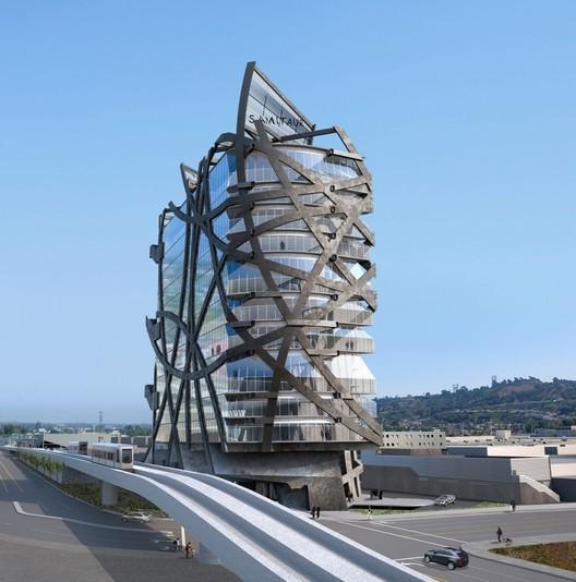 © Eric Owen Moss Architects. Via Urbanize LA
