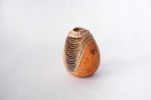 Gourd Basket by Terrol Dew Johnson, 2014. Image Courtesy of Aranda\Lasch