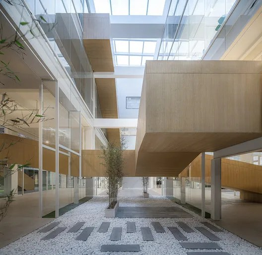 Atrium 3. Image © Qingshan Wu
