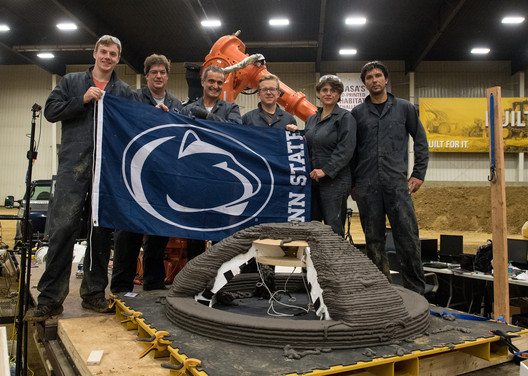 2nd Prize Winner Penn State University. Image Courtesy of NASA HQ PHOTO