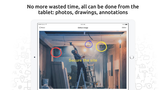 "No more ""Paint"", all can be done from the tablet: photos, drawings, annotations"