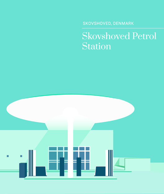 Skovshoved Petrol Station, Denmark. Image Courtesy of Expedia Denmark, Sweden, Norway and Finland