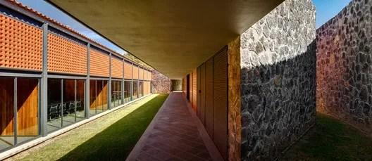 Criminal Courts for Oral Trials, Pátzcuaro, Michoacán State, México, 2012-2015. Image Courtesy of Taller de Arquitectura Mauricio Rocha + Gabriela Carrillo