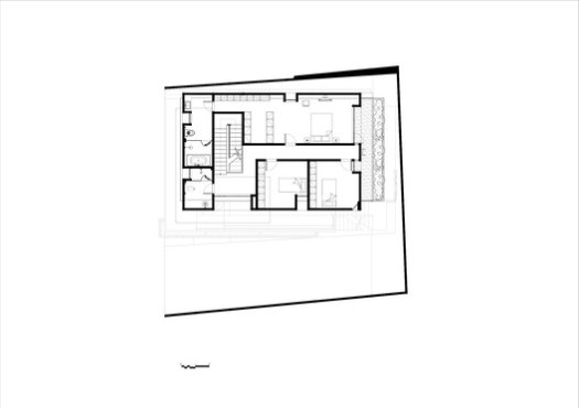 Plan type B 001 - Third floor plan