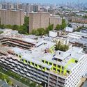 New Drone Footage Shows Construction of the Largest Residential Development in Bushwick, New York