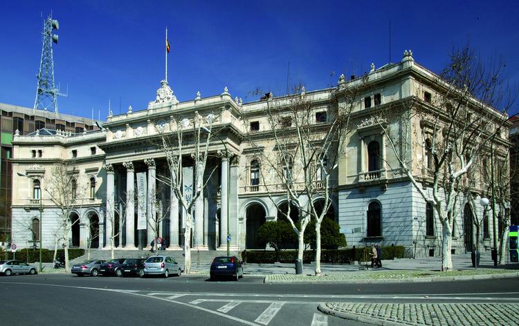 Bolsa de Madrid / Enrique María Repullés y Vargas. Image Cortesía de XIV Semana de la Arquitectura