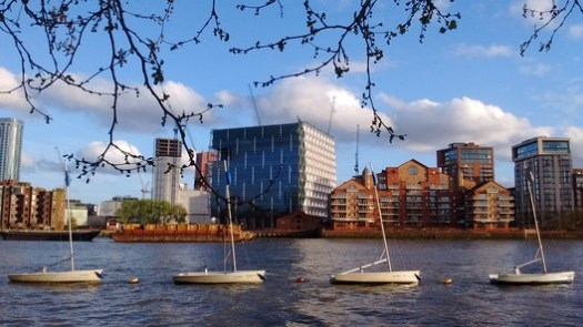 17. New United States Embassy, London ($1 billion – predicted). Image © <a href='https://en.wikipedia.org/wiki/File:New_Embassy_of_the_United_States_of_America_in_Battersea_Nine_Elms,_London,_seen_from_Pimlico.jpg'>Wikimedia user Curran2</a> licensed under <a href='https://creativecommons.org/licenses/by-sa/4.0/deed.en'>CC BY-SA 4.0</a>