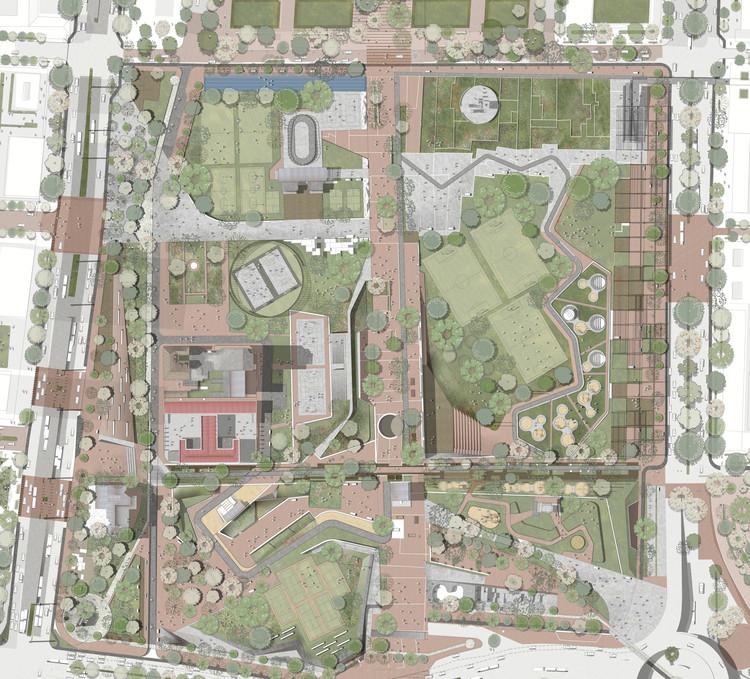 Planta general. Image Cortesía de DARP