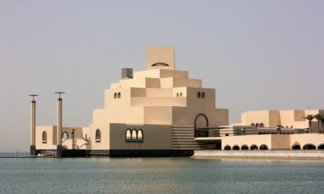 Museu de Arte Islâmica / IM Pei. Imagem © <a href='https://www.flickr.com/photos/26085795@N02/4754905352/' data-recalc-dims=