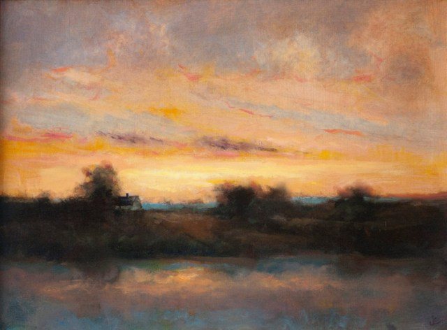 Green Harbor Twilight, 2014. Imagem © Jeremiah Eck