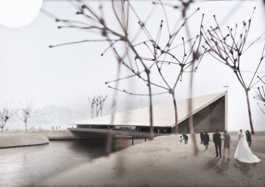 "3rd Prize (Tie) - ""Silta (Bridge)"" / AOR Architects. Image © Aarti Ollila Ristola Architects (AOR)"