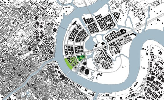 Site Plan. Empire City by Ole Scheeren. Image © Buro Ole Scheeren